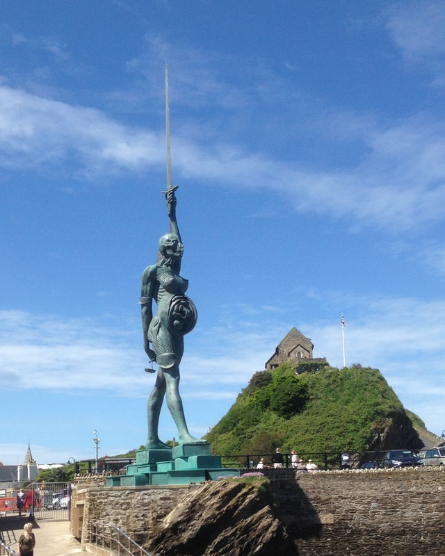 Damien Hirst's Verity Ilfracombe