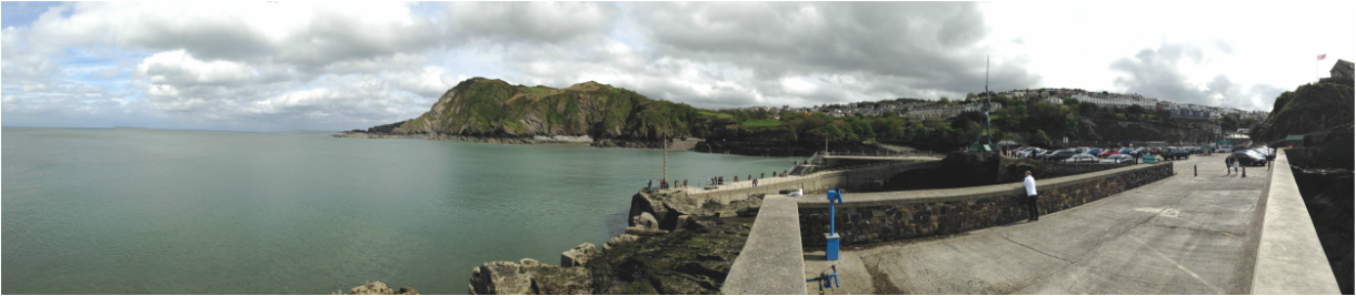 Ilfracombe harbour - staycation holidays